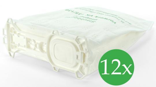 Doppelpack Filtertüten passend für Vorwerk Kobold 135 / 136