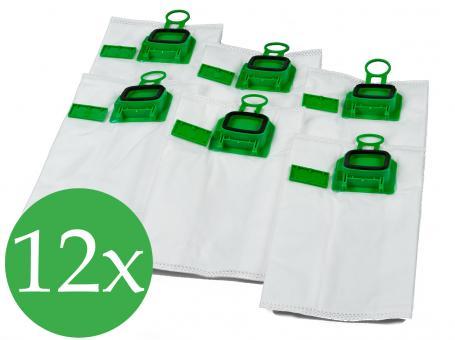 Doppelpack - 2x6 Filtertüten passend für Vorwerk Kobold VK 140 und 150
