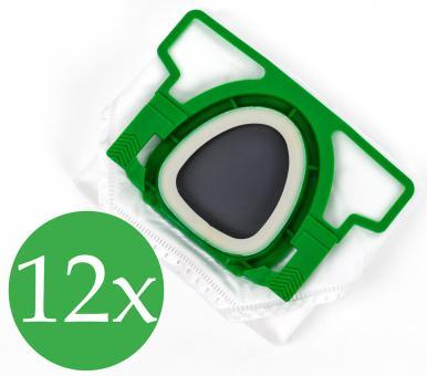 Doppelpack - 2x6  Filtertüten FP200 passend für Vorwerk Kobold VK 200