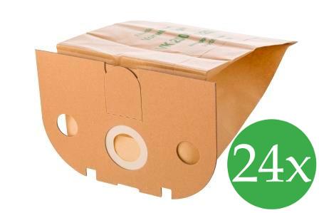 Vorratspack - 24 Filtertüten passend für Vorwerk Tiger 250, 251 und 252