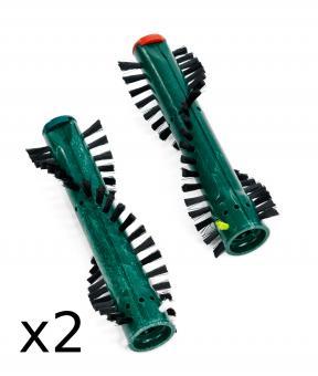 Doppelpack Rundbürsten passend für Vorwerk Kobold EB 360 (2 Paar)