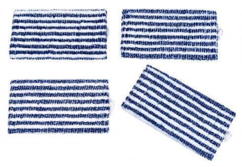 4 Wischtücher Universal geeignet zur Hartbodenpflege mit Vorwerk SP520 und SP530