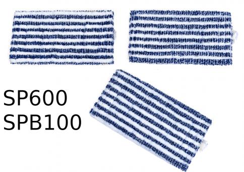 3 Wischtücher Universal geeignet zur Hartbodenpflege mit Vorwerk SP600 und SPB100