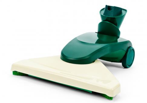 Hartbodendüse mit drehbarem Fussteil passend für alle Vorwerk Modelle mit Ovalanschluss